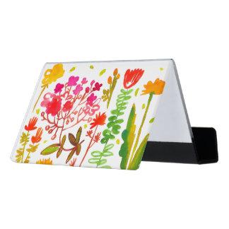 水彩画によっては机の名刺入れが開花します デスク名刺ホルダー