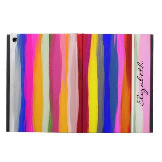 水彩画によって着色される背景#7 iPad AIRケース