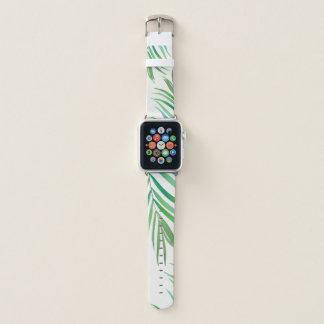 水彩画のシダの葉のAppleの腕時計の禁止 Apple Watchバンド