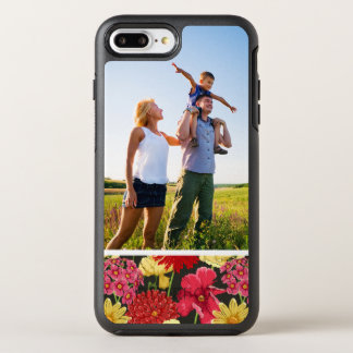 水彩画のスタイルの写真の花模様の壁紙 オッターボックスシンメトリーiPhone 8 PLUS/7 PLUSケース
