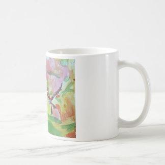 水彩画のトンボのマグ コーヒーマグカップ
