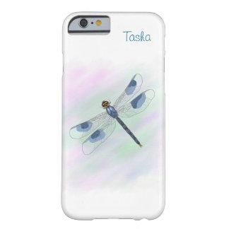 水彩画のトンボのiPhone 6/6Sの場合 Barely There iPhone 6 ケース