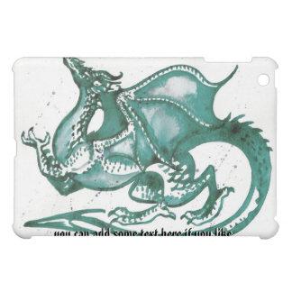 水彩画のドラゴンのiPadの場合 iPad Miniカバー