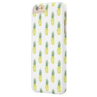 水彩画のパイナップル電話箱 BARELY THERE iPhone 6 PLUS ケース