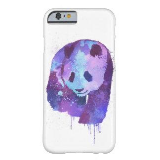 水彩画のパンダくま BARELY THERE iPhone 6 ケース