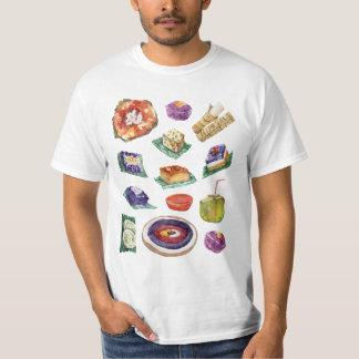 水彩画のフィリピン人のフィリピンの食糧優美 Tシャツ