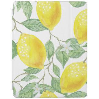 水彩画のフルーツの背景 iPadスマートカバー