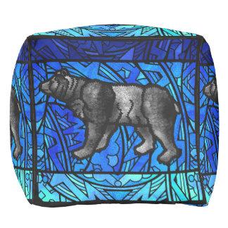 水彩画のペンキの繰り返し動物パターン動物 プーフ