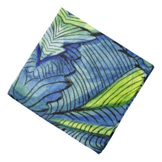 水彩画のペンキインク洗浄抽象デザイン バンダナ