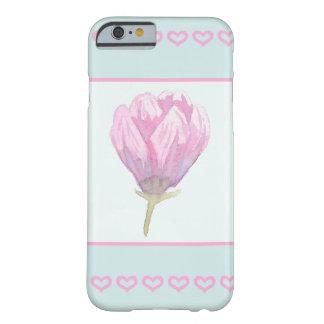 水彩画のマグノリアの開花 BARELY THERE iPhone 6 ケース