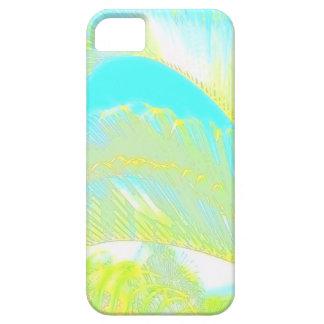 水彩画のヤシの木の芸術的なiphone 5のハワイの例 iPhone 5 case