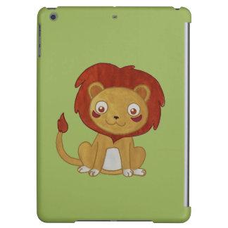 水彩画のライオン