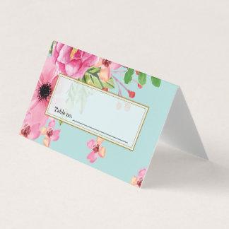 水彩画のヴィンテージの手描きの花の絵画 カード