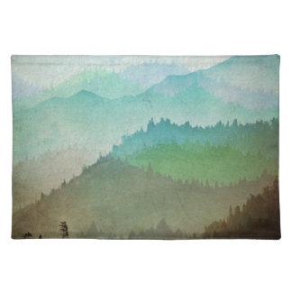 水彩画の丘 ランチョンマット