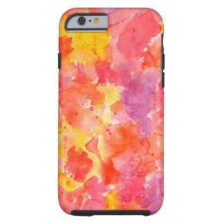 水彩画の喜びのiPhone6ケース iPhone 6 タフケース