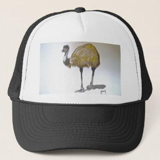 水彩画の帽子のエミュー キャップ