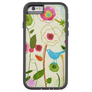 水彩画の庭の花 TOUGH XTREME iPhone 6 ケース