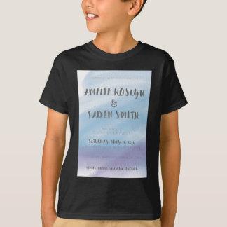 水彩画の招待 Tシャツ