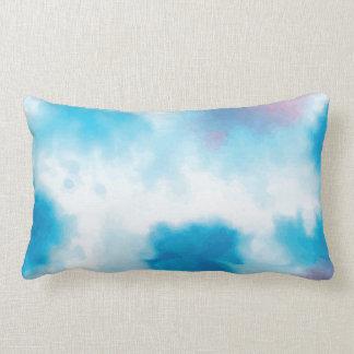水彩画の枕No.3 ランバークッション
