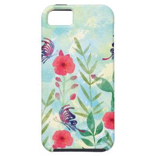 水彩画の植物園VI iPhone SE/5/5s ケース