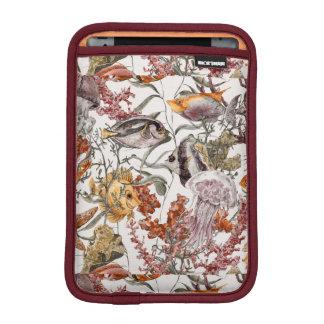 水彩画の海洋生物パターン2 iPad MINIスリーブ