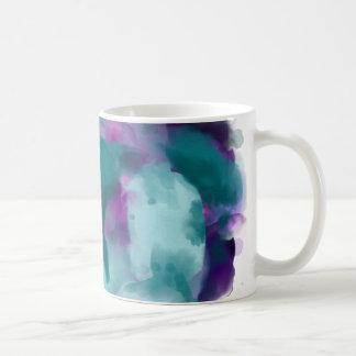 水彩画の渦巻! コーヒーマグカップ