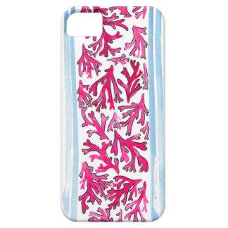水彩画の珊瑚 iPhone SE/5/5s ケース