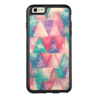 水彩画の背景の三角形 オッターボックスiPhone 6/6S PLUSケース