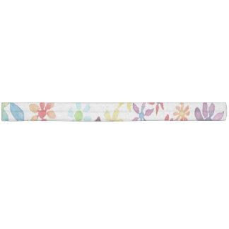 水彩画の花 ヘアタイ