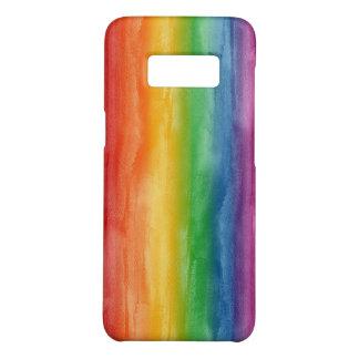 水彩画の虹は縞で飾ります Case-Mate SAMSUNG GALAXY S8ケース