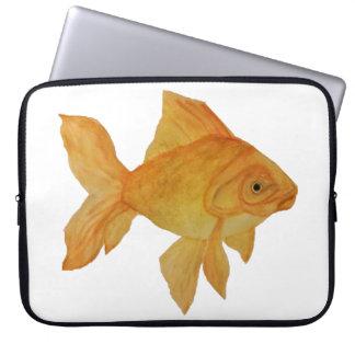 水彩画の金魚のラップトップのバッグ ラップトップスリーブ