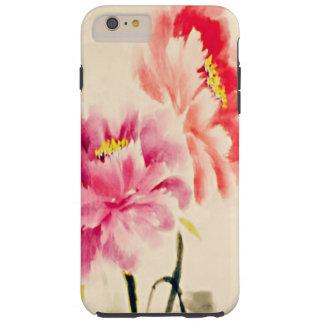 水彩画の開花 TOUGH iPhone 6 PLUS ケース