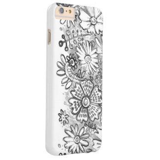 水彩画の雪IPHONEの物語 BARELY THERE iPhone 6 PLUS ケース