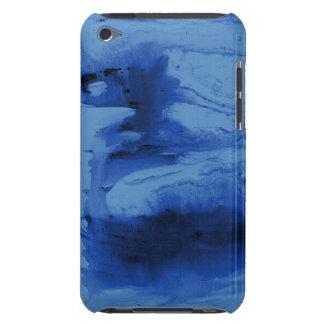 水彩画の青い電話箱およびカバー Case-Mate iPod TOUCH ケース