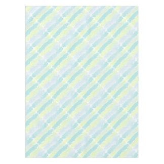 水彩画の青緑Azur テーブルクロス