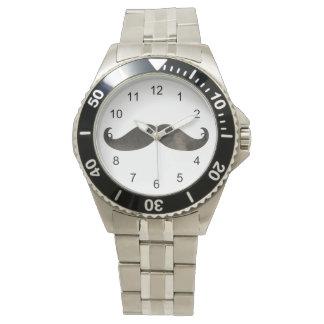 水彩画の髭 腕時計