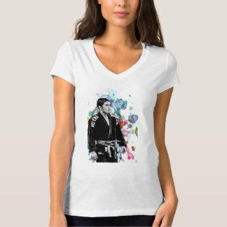 水彩画のBJJパブロ Tシャツ