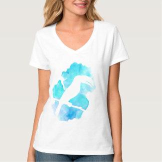 水彩画のToucanのしぶき Tシャツ