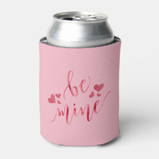 水彩画は鉱山のバレンタインデーです 缶クーラー
