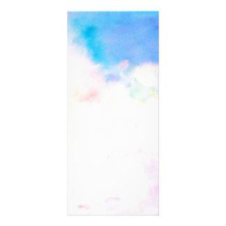 水彩画抽象的なパターンしおりの棚カード ラックカード