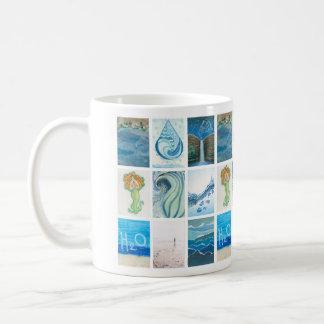 水挑戦マグ コーヒーマグカップ