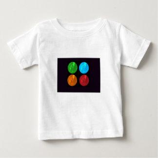 水星のコラージュ ベビーTシャツ