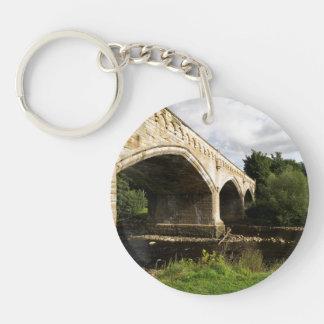 水星橋、リッチモンド、ノースヨークシャー州 キーホルダー
