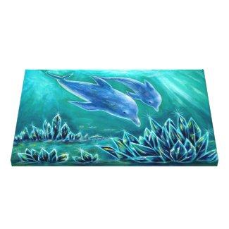 水晶とイルカの海1