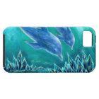 水晶とイルカの海1 iPhone SE/5/5s ケース
