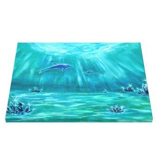 水晶とイルカの海3