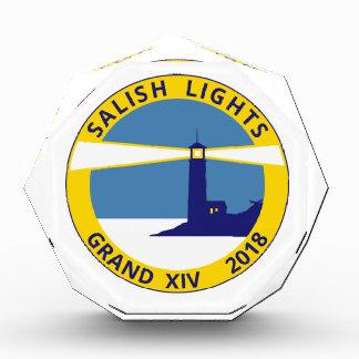 水晶アクリルのロゴのプラク 表彰盾