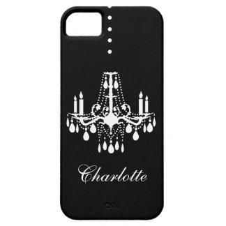 水晶シャンデリアのiPhone 5の穹窖ID iPhone SE/5/5s ケース