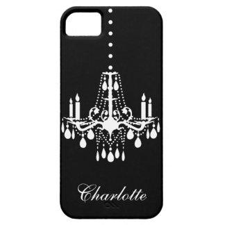 水晶シャンデリアのiPhone 5Case-MateBarelyThere iPhone SE/5/5s ケース
