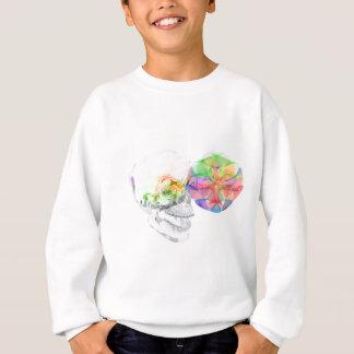 水晶スカルDMTのPineal錬金術 スウェットシャツ